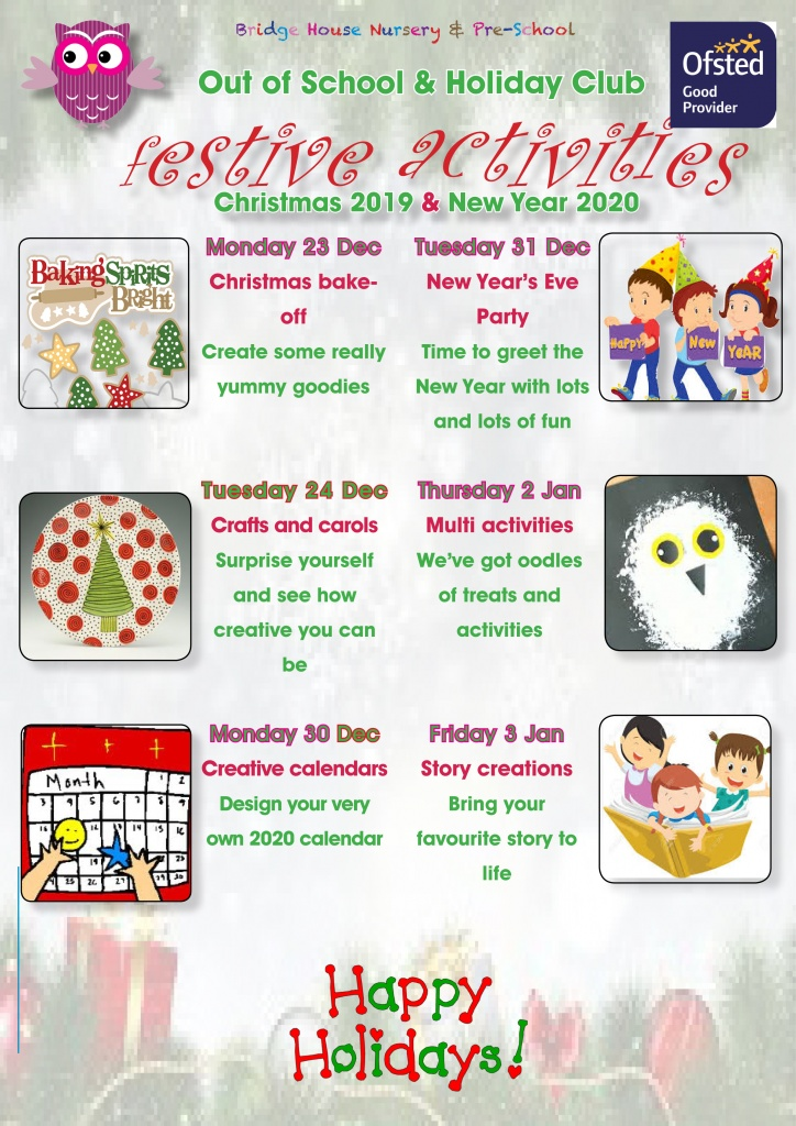Holiday activities Christmas 2019 for web